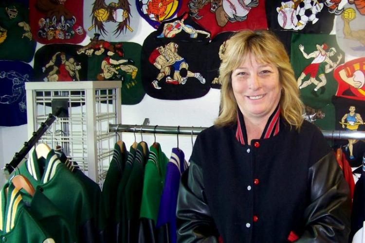 Wendy Hamby is owner of Extreme Stitch Embroidery in Citrus Heights. // Thomas Sullivan